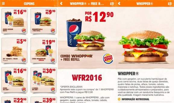 Cupom de Desconto e Ofertas Burger King